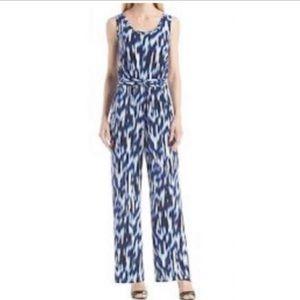 Calvin Klein Blue Regatta Jumpsuit Size 4